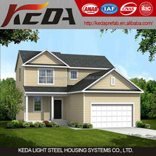light steel prefabricated apartments building for sale