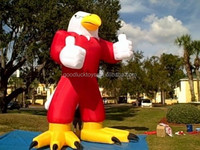 20' INFLATABLE EAGLE /BLOWER 4 ADVERTISING PROMOTIONS Inflatable Giant eagle cartoon