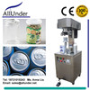 semi automatic beverage sealer/canning machine,manual vacuum tin/zip-top pop ring-pull aluminum beer can seamer/seaming machine