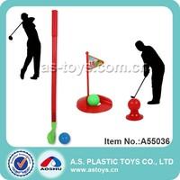 mini plastic toy golf club set for kids