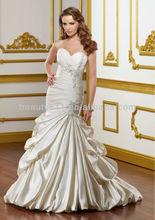 balón vestido de novia de tribunal tren tul vestido de novia wd0315