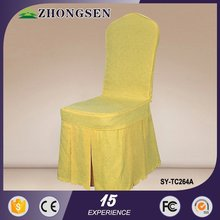 5 star sherton Hotel new fashion design damask chair cover chair sashes