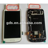 Mobile LCD Touch Screen With Bezel For Galaxy S3 T999 i747
