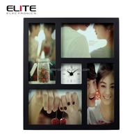 cheap souvenir gift mdf square photo frame superior clocks wall
