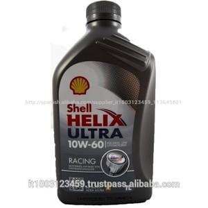 Shell helix ultra 10w-60 aceite para motor de alto rendimiento 1 litro botella de plástico