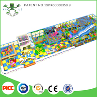 Big Size Design Happy Land Indoor Playground For Kids