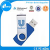 alibaba china Top selling cheapest colorful twister usb flash drive with life warranty