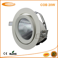 Indoor lightening from factory 20w cob led downlight china supplier