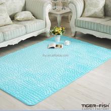 Anti-slip Home Carpet,Embossed Flower Carpet, Room Embossed Carpet