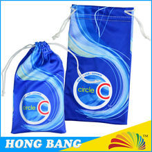 HBD191 nylon string digital photo printing microfiber pouch bag