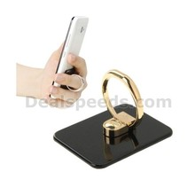 VENICEN Universal Rotatable Encrusted Metal Ring Holder / Car Hanging Ring Stander for iPhone / iPad / Samsung / HTC / Nokia