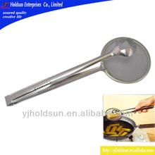 de alta calidad de acero inoxidable para freír colador pinzas