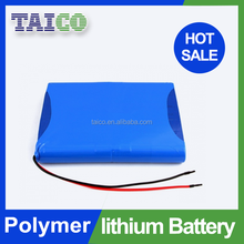 Deep Cycle 3500mah 7.4v Li-ion Polymer Security System Battery