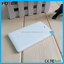 name card power bank 2600 for business partner