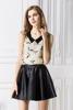 Free Shipping New 2015 spring woman skirt fashion women clothing sleeveless vest chiffon unlined upper garment blouses 1005
