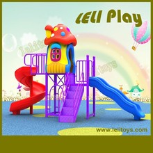 LL-O18 Hottest High Quality Children Outdoor Plastic Slides