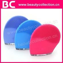 BC-1329 New design girl face brush food grade silicone massage brush / facial massage brush