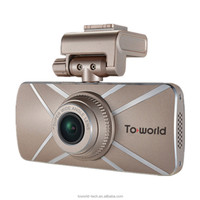 2015 China Ultra Thin Windshield HD 1296p Camera Car DVR, Dashboard Camera, Micro Camera Motion Detection GPS