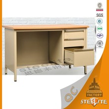 Cold Rolled Steel School Teacher Desks / Middle East Maket Office Table