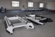 liya de goma inflable barco barco de alta velocidad para la venta