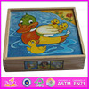 Bestest 3D promotional children's DIY printed wooden puzzle WJ278171