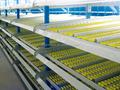 Prateleira para armazém - caixa de armazenamento de rack de fluxo sistema