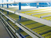 shelf for warehouse- carton flow rack storage system