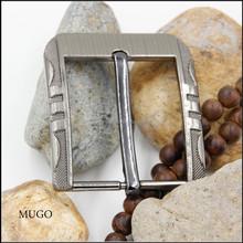 Metal belt pin buckle