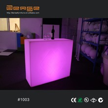 Best sale new design led furniture lighting bar table bar counter