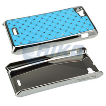 Plastic Case Diamonds Hard Cover Snap On Case for Sony ST26I