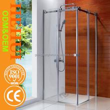 profilo porta in alluminio vetro curvo cabina doccia e fibra di vetro box doccia sf001