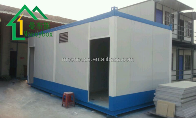 Cheap prefab containers in blue and white for sale shiping containers living home prefab - Cheap container homes for sale ...