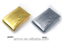 Emergency blanket disposable aluminum plating film Space thermal sleeping bags Outdoor products