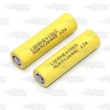 LG HE4 18650 2500mah 35A flat top 3.7V li ion rechargeable battery LG 18650