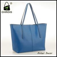 black patent women genuine leather handbag