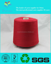 super polyester/cotton yarn for cloth and sock