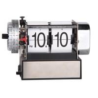 Small Bouncing Flip Alarm Clock desk clock with alarm