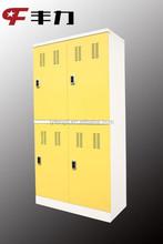 gym locker room furniture 4 door compartment steel locker