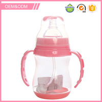 Wide neck non smell baby safety pp baby bottle manufacture