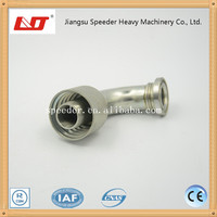 90 degree elbow flange joint hydraulic fittings