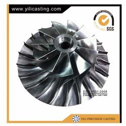 Yili turbo part compressor impeller for locomotive