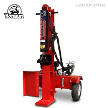 China supplied best seller high efficiency horizontal and vertical hydraulic 50T log splitter excavator