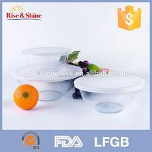 Mikrodalgaya vakum cam yoğurt kabı/gıda saklama kabı
