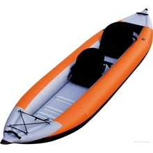 2016 China wholesale cheap pvc 2 or 3 person inflatable leisure life kayak