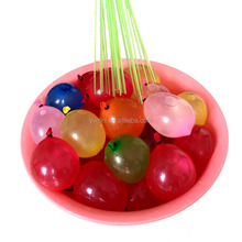 Wholesales water balloon with different colors 7 mixed colorful 37pcs/ bunch