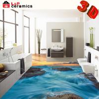 hot design Foshan factory 3D micro crystal ceramic pictures of carpet tiles for floor