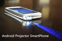 Video Projector Mobile Phone with Built in Projector Android 3g Smartphone