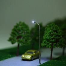 scale miniature tree,car,lamp and figure model for scale Landscape layout