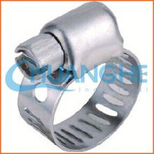 Made in china 2 ear crimp hose clamp