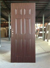 Finished Surface Finishing and Exterior Position Steel wooden interior door design